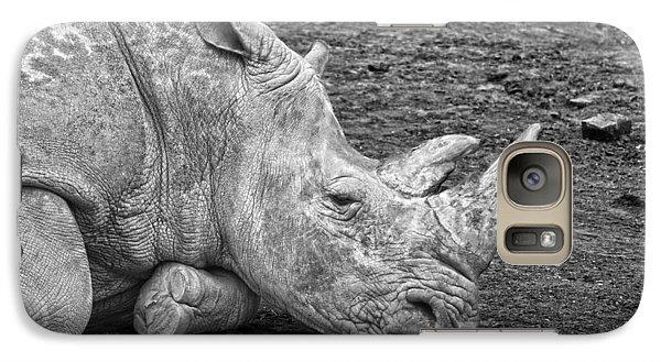 Rhinoceros Galaxy S7 Case by Nancy Aurand-Humpf