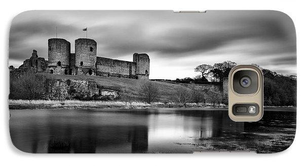 Rhuddlan Castle Galaxy Case by Dave Bowman