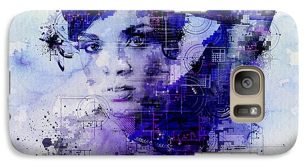 Rihanna 2 Galaxy Case by Bekim Art