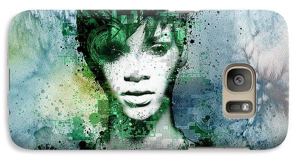 Rihanna 4 Galaxy S7 Case by Bekim Art