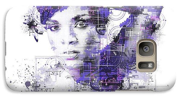 Rihanna Galaxy S7 Case by Bekim Art