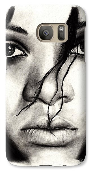 Rihanna Galaxy Case by Rosalinda Markle