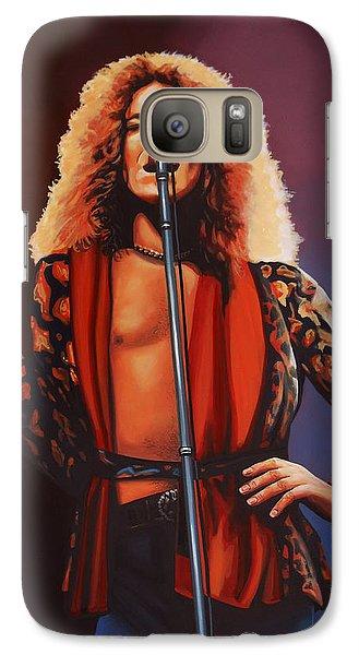 Robert Plant Of Led Zeppelin Galaxy S7 Case by Paul Meijering