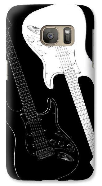 Rock And Roll Yin Yang Galaxy Case by Mike McGlothlen