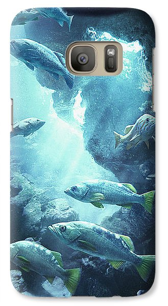 Rockfish Sanctuary Galaxy S7 Case by Javier Lazo