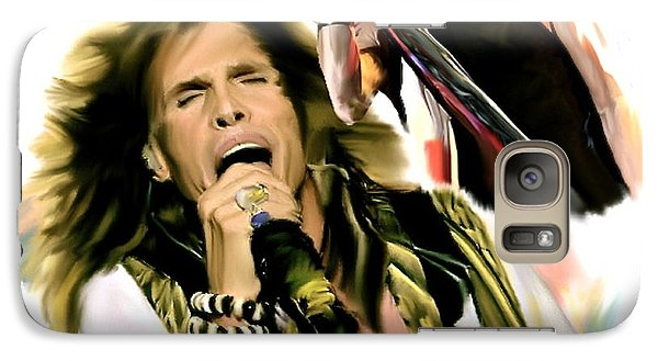 Rocks Gothic Lion II  Steven Tyler Galaxy S7 Case by Iconic Images Art Gallery David Pucciarelli