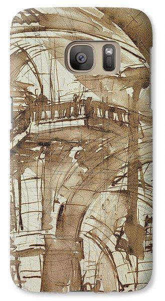 Roman Prison Galaxy S7 Case by Giovanni Battista Piranesi