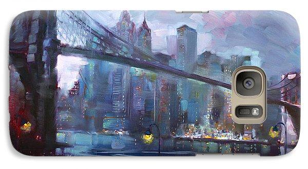 Romance By East River II Galaxy Case by Ylli Haruni