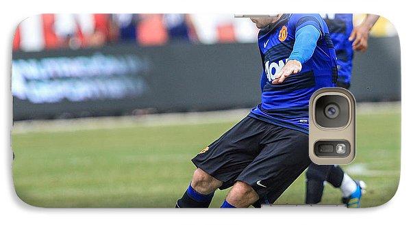 Rooney 2 Galaxy Case by Keith R Crowley