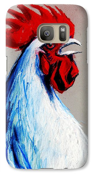 Rooster Head Galaxy Case by Mona Edulesco