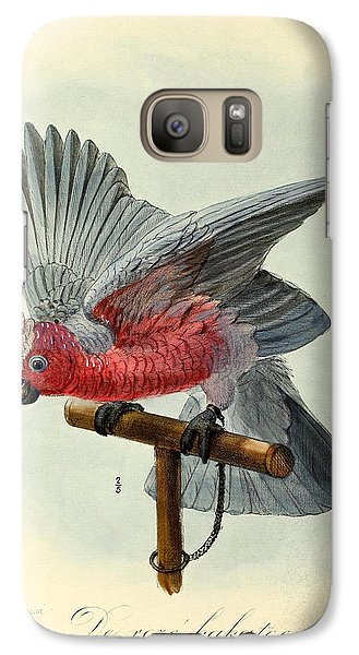 Rose Cockatoo Galaxy S7 Case by J G Keulemans