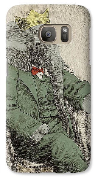 Royal Portrait Galaxy Case by Eric Fan