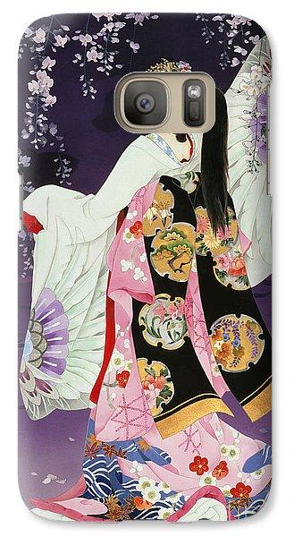 Sagi No Mai Galaxy Case by Haruyo Morita