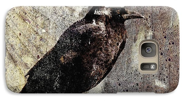 Same Crow Different Day Galaxy S7 Case by Carol Leigh