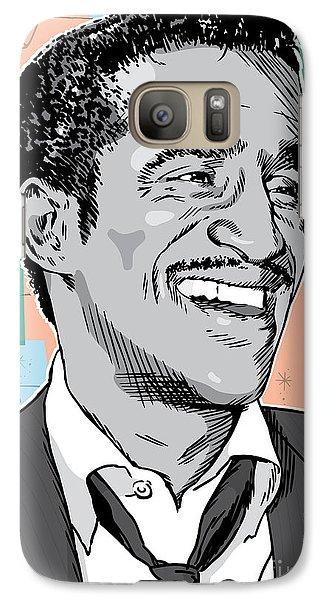 Sammy Davis Jr Pop Art Galaxy S7 Case by Jim Zahniser