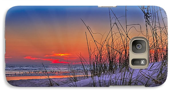 Sand And Sea Galaxy Case by Marvin Spates