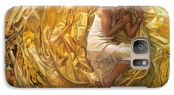 Santita  Galaxy S7 Case by Mia Tavonatti