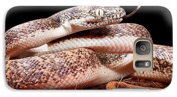 Savu Python In Defensive Posture Galaxy S7 Case by David Kenny