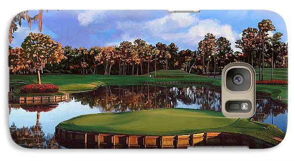 Sawgrass 17th Hole Galaxy S7 Case by Tim Gilliland