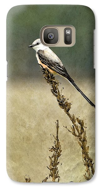 Scissortailed-flycatcher Galaxy S7 Case by Betty LaRue