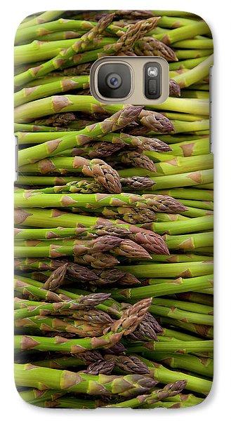Scotts Asparagus Farm, Marlborough Galaxy Case by Douglas Peebles