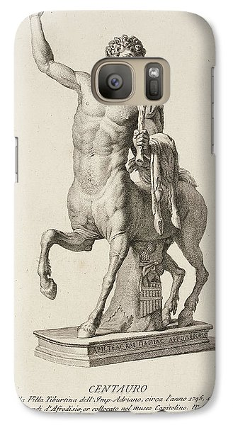 Sculpture Of Centaur From Italy Galaxy Case by British Library