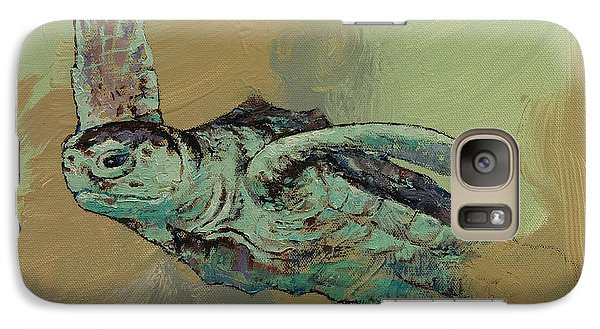 Sea Turtle Galaxy Case by Michael Creese