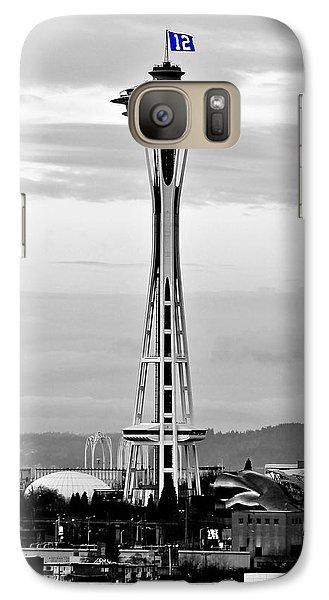 Seahawk Pride Galaxy S7 Case by Benjamin Yeager