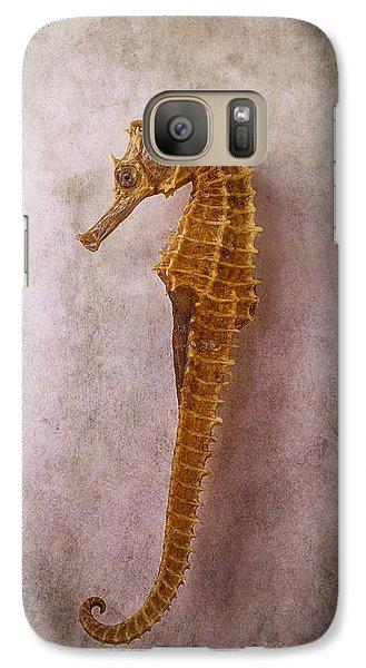 Seahorse Still Life Galaxy Case by Garry Gay