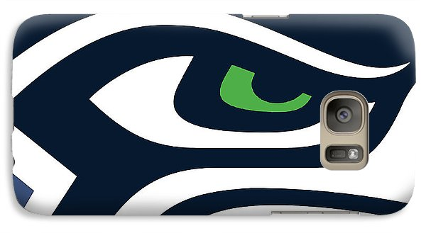 Seattle Seahawks Galaxy Case by Tony Rubino