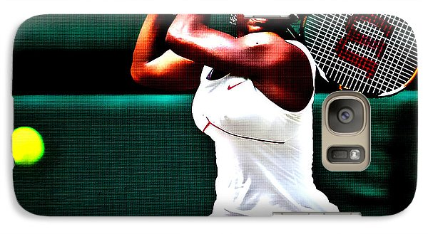 Serena Williams 3a Galaxy S7 Case by Brian Reaves