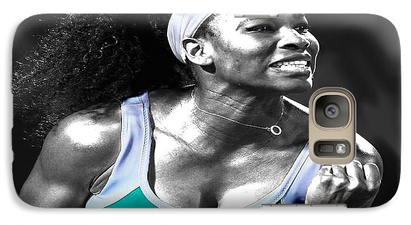 Serena Williams Ace Galaxy S7 Case by Brian Reaves