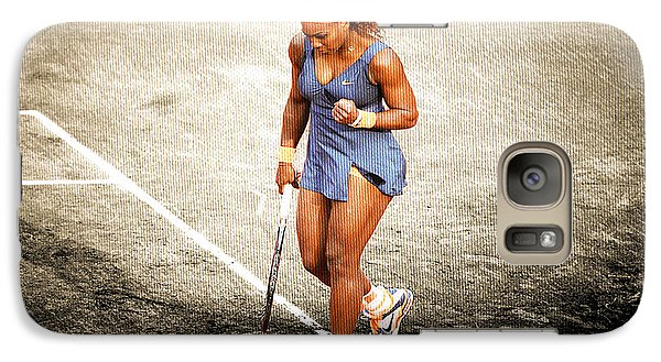 Serena Williams Count It Galaxy S7 Case by Brian Reaves