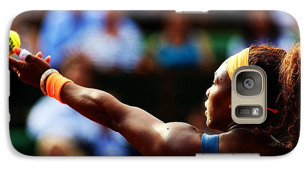 Serena Williams Galaxy S7 Case by Srdjan Petrovic