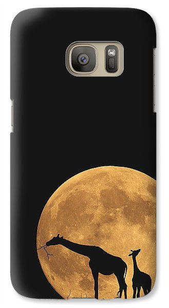 Serengeti Safari Galaxy Case by Carrie Ann Grippo-Pike