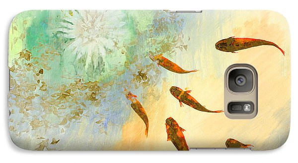 Sette Pesciolini Verdi Galaxy Case by Guido Borelli