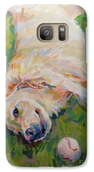 Seventh Inning Stretch Galaxy S7 Case by Kimberly Santini