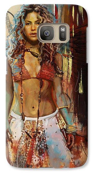 Shakira  Galaxy Case by Corporate Art Task Force
