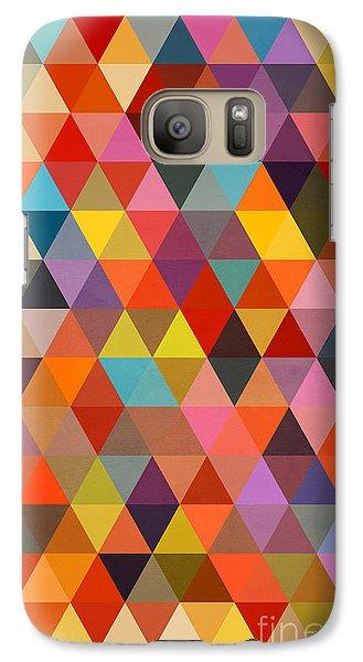 Shapes Galaxy Case by Mark Ashkenazi