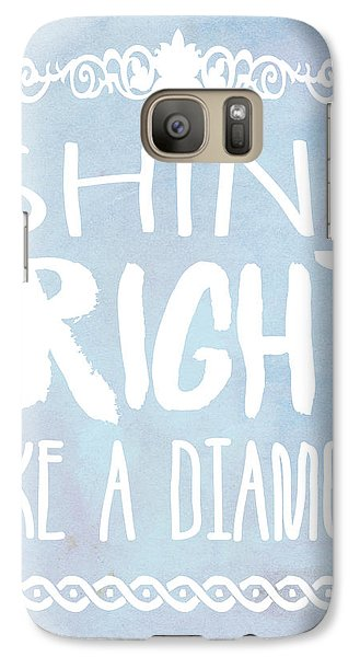 Shine Bright Blue Galaxy Case by Pati Photography