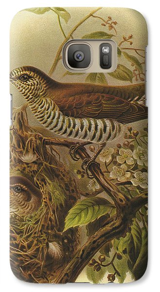 Shining Cuckoo Galaxy S7 Case by J G Keulemans