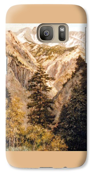 Shirley Temple Mine Galaxy S7 Case by Donna Tucker