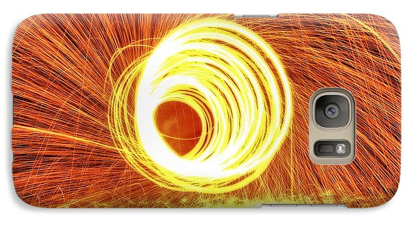 Shooting Sparks Galaxy Case by Dan Sproul