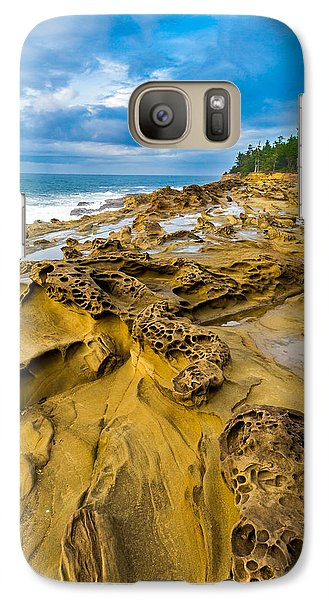 Shore Acres Sandstone Galaxy Case by Robert Bynum