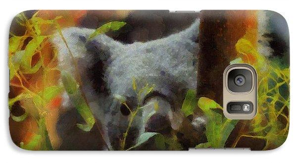 Shy Koala Galaxy S7 Case by Dan Sproul