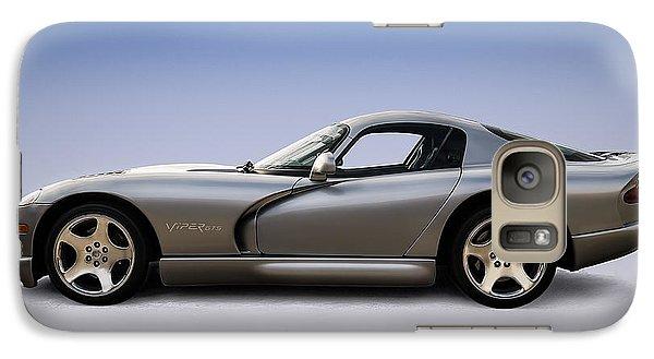 Silver Viper Galaxy S7 Case by Douglas Pittman