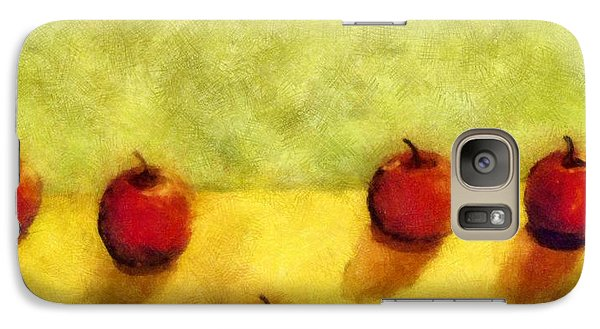 Six Apples Galaxy Case by Michelle Calkins