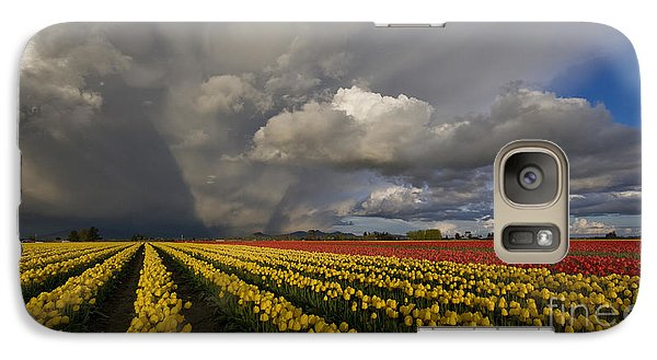 Skagit Valley Storm Galaxy Case by Mike Reid