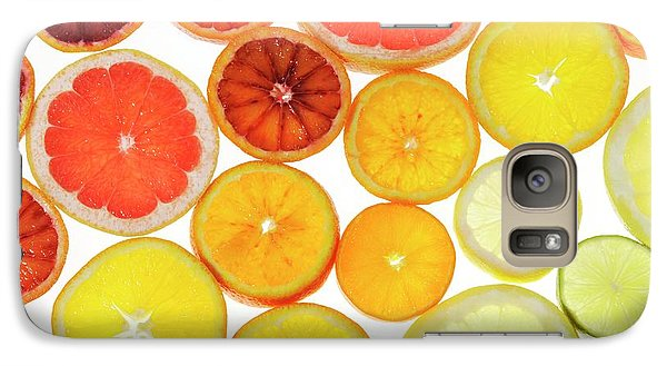 Slices Of Citrus Fruit Galaxy S7 Case by Cordelia Molloy