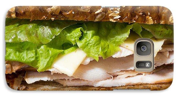 Smoked Turkey Sandwich Galaxy Case by Edward Fielding
